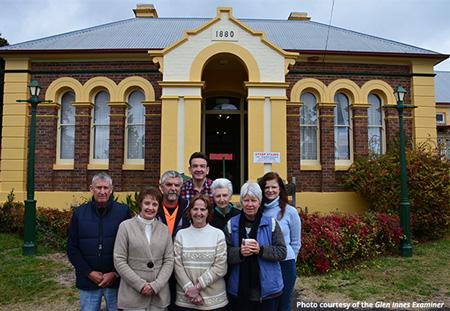 History House Museum crew - Glen Innes