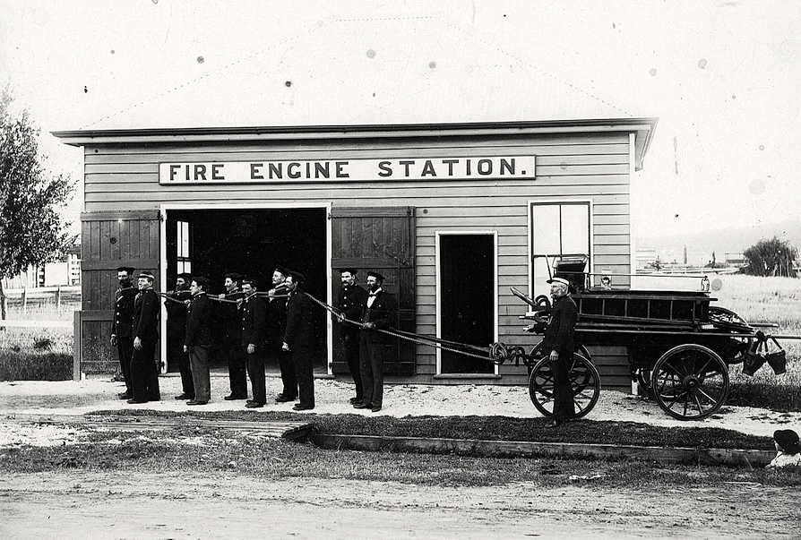 1888 Fire Brigade photo Glen Innes