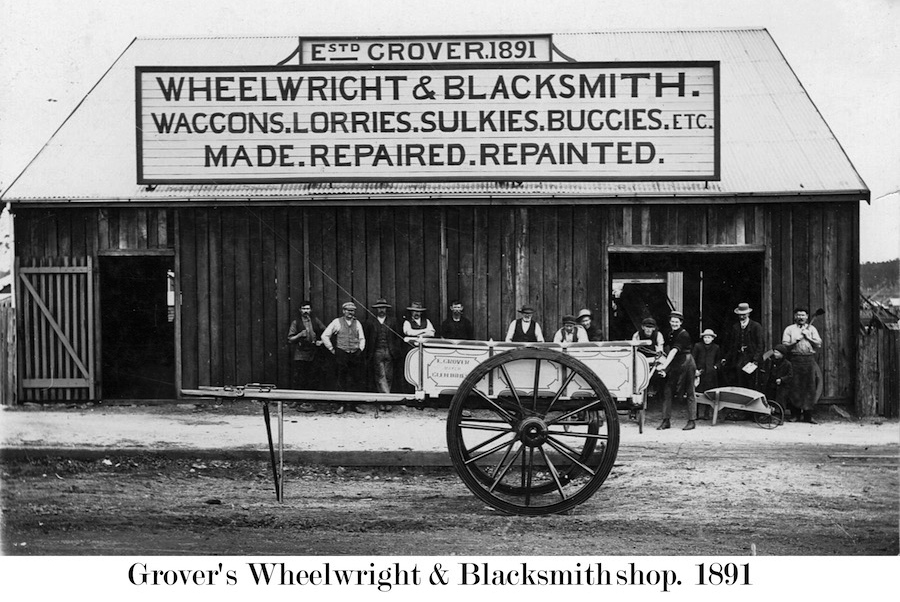 Blacksmith Grovers in 1891