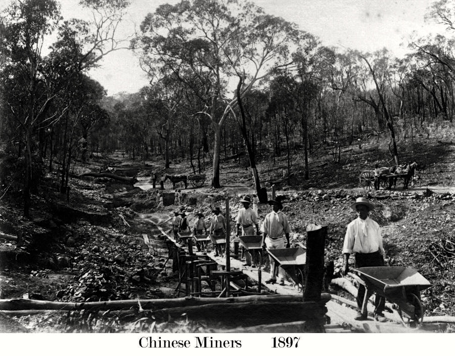 Chinese Miners in 1897