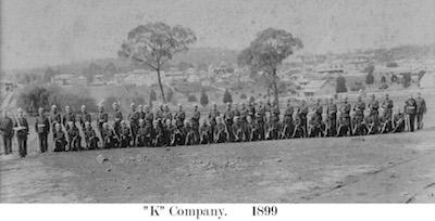 1899 Army K Company