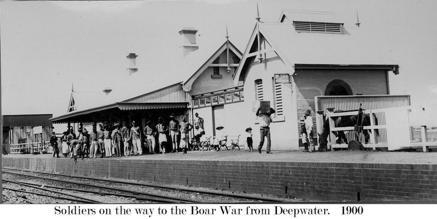 Deepwater Rail Boar War 1900