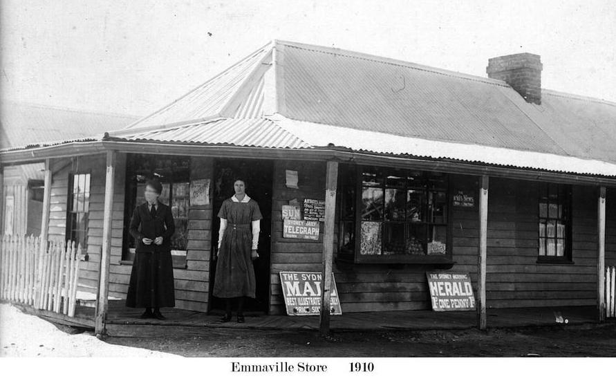 Emmaville Store 1910
