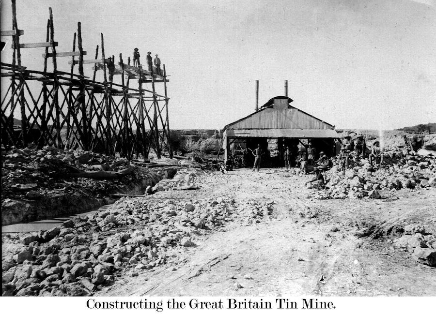 Great Britain Mine 1910