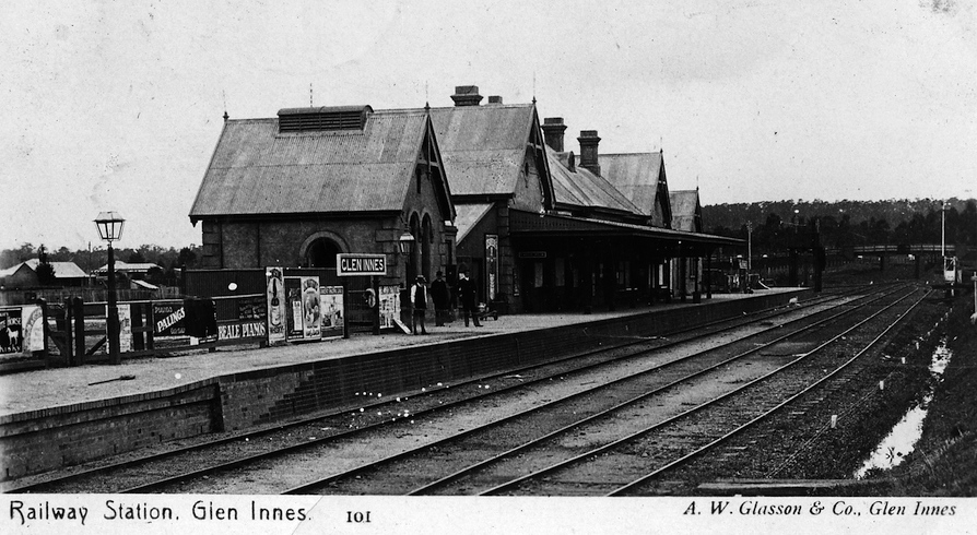 Glen Innes Station 1911