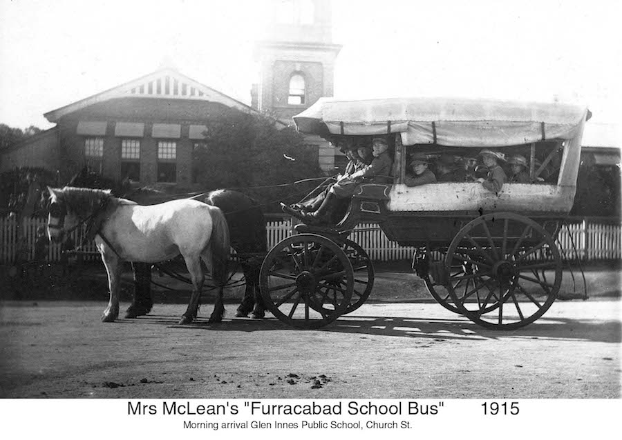 1915 Furracabed School Bus