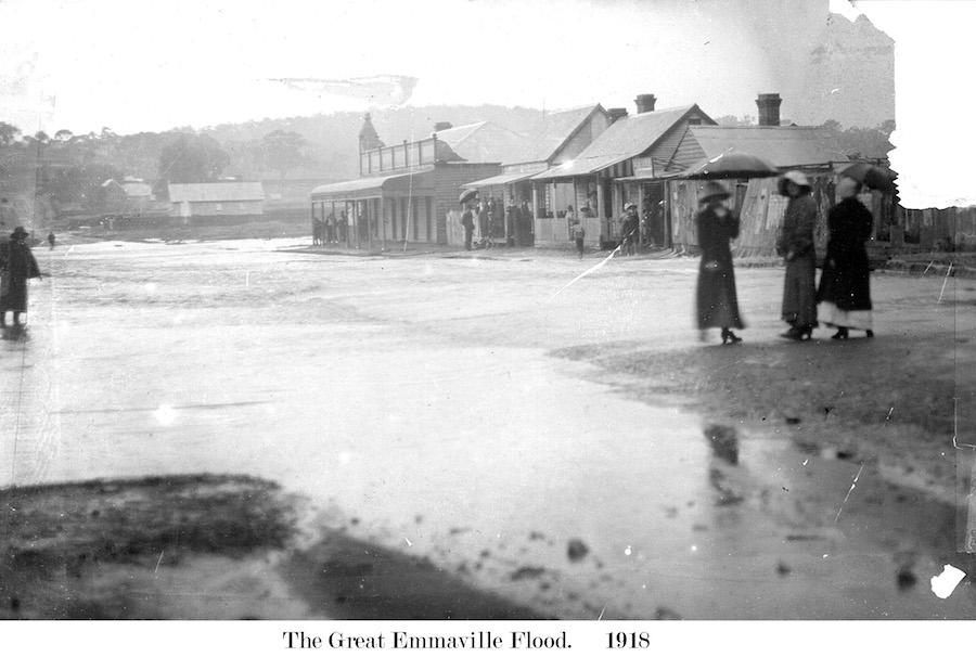 1918 Emmaville Flood