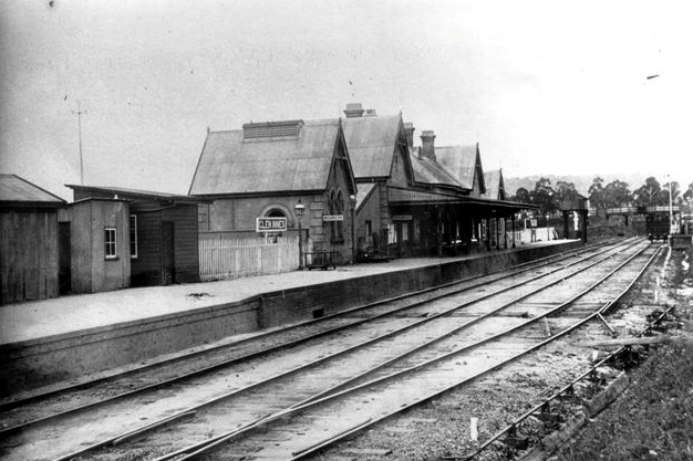 Glen Innes station in 1919