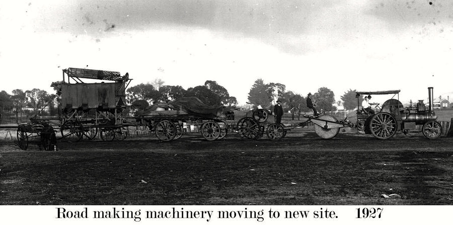 Road Machinary in 1927