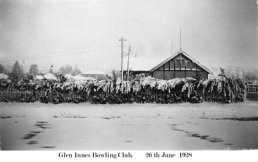 Bowls Club in 1928