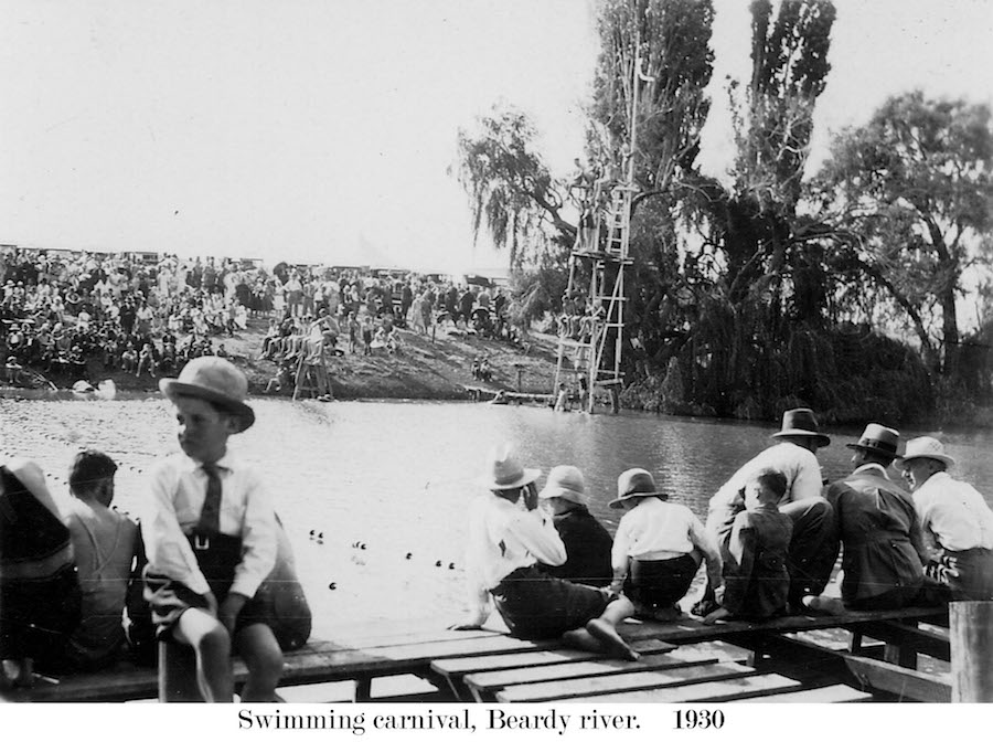 1930 Beardy River Swim Carnival