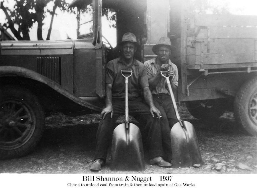 1937 Gas Works truck