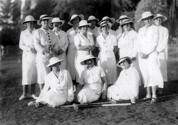 Croquet Club in 1937