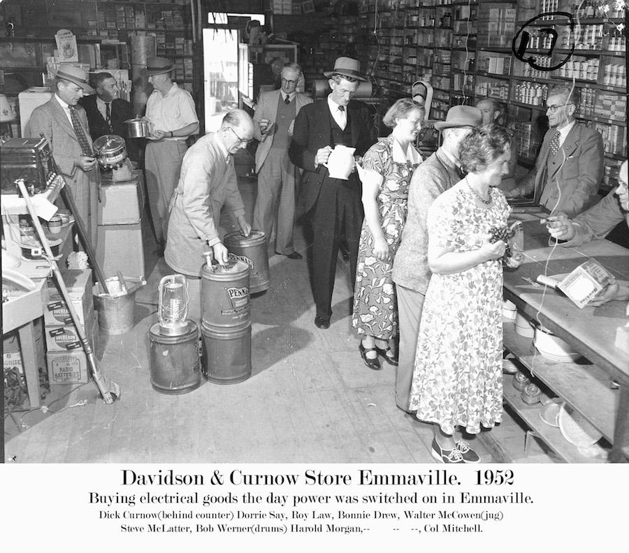 1952 Emmaville Curnow & Davidson Store