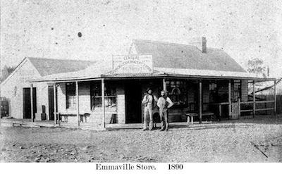 Emmaville Store in 1890