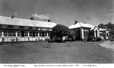 Glen Innes Hospital front 1927