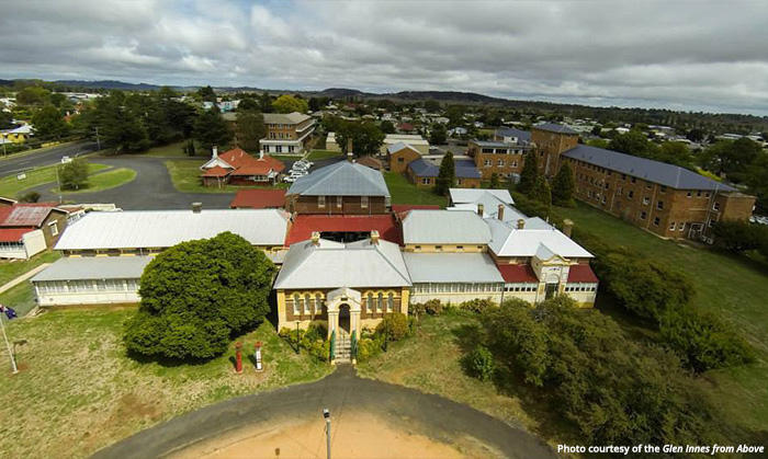 Glen Innes - Photo courtesy of Glen Innes from Above