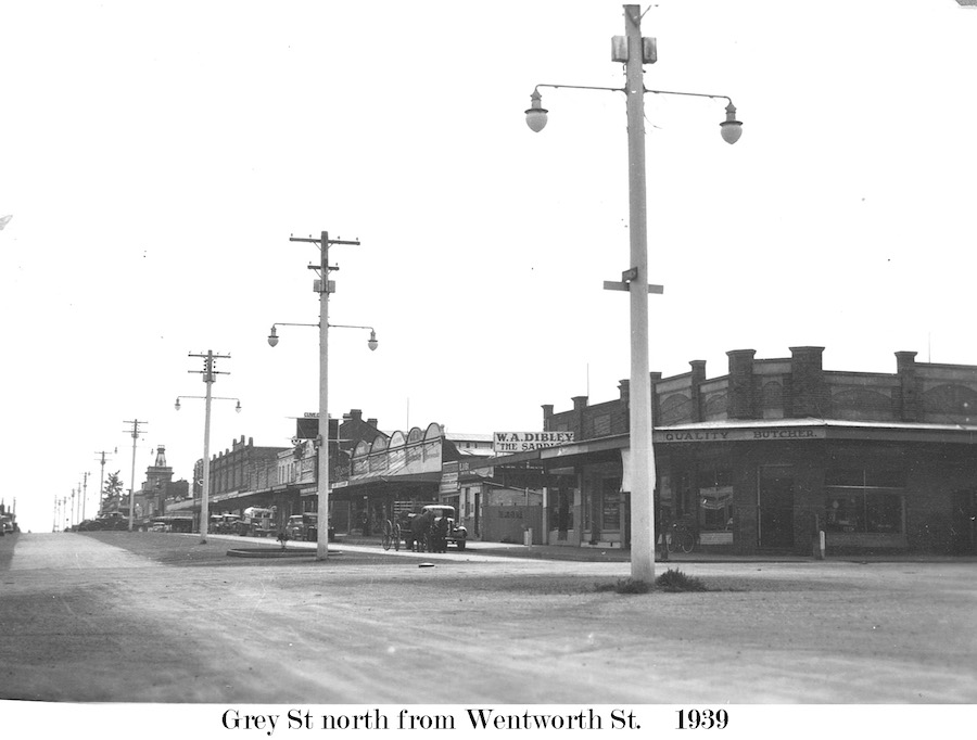 Grey St 169 - Grey Nth from Wentworth 1939