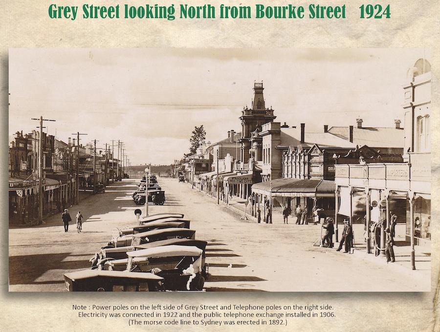 Grey St Corrys Cnr 1924