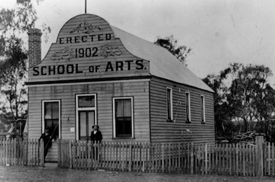 Red Range School of Arts Glen Innes 1910