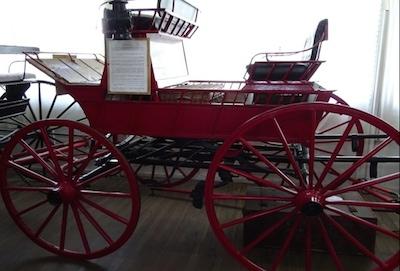 Land of the Beardies History House Museum - Transport exhibit