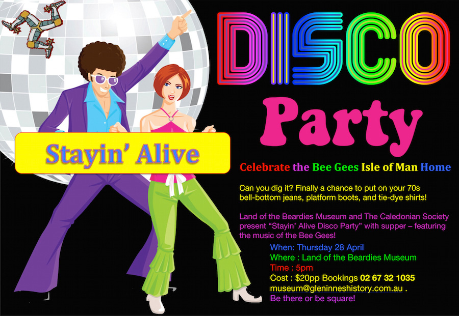 Disco Party - Bee Gees - Isle of Man