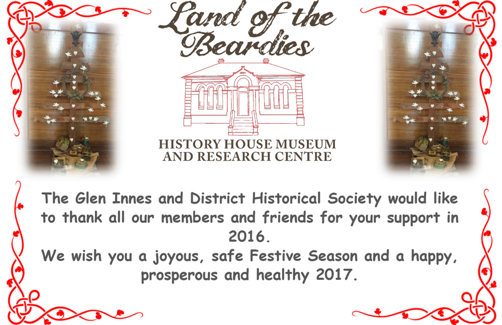 Christmas wishes from Land of the Beardies