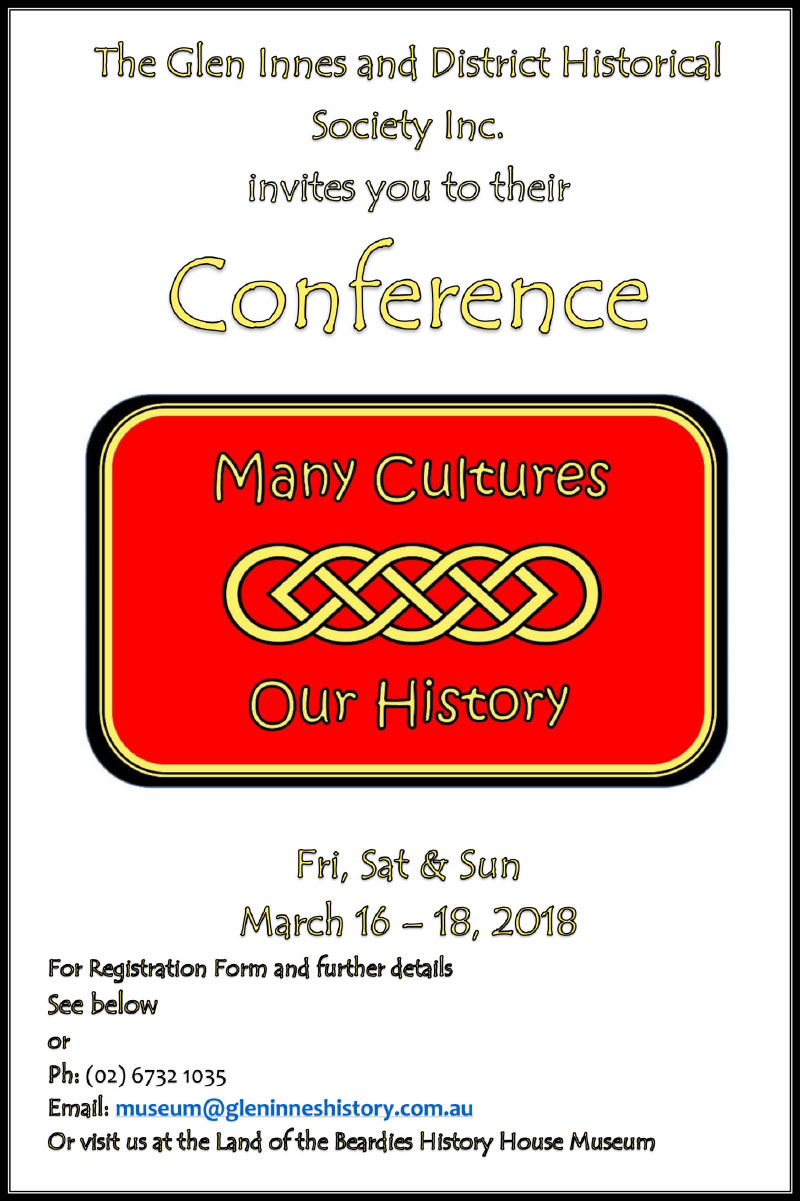 Many Cultures - Our History - Conference
